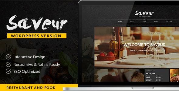 Saveur - Food & Restaurant WordPress - Food Retail