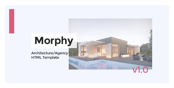 Morphy - Architecture/Agency HTML Template - Creative Site Templates