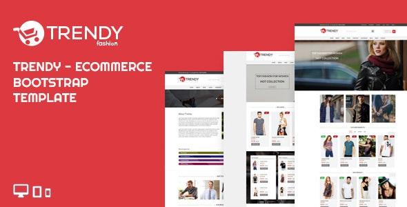 TRENDY FASHION - Ecommerce Bootstrap Template - Fashion Retail
