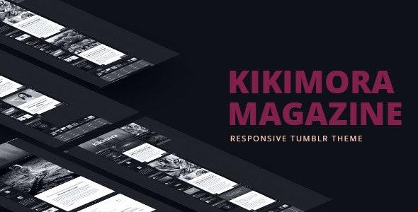 Kikimora Magazine - Responsive Tumblr Theme - Blog Tumblr