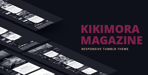 Kikimora Magazine - Responsive Tumblr Theme