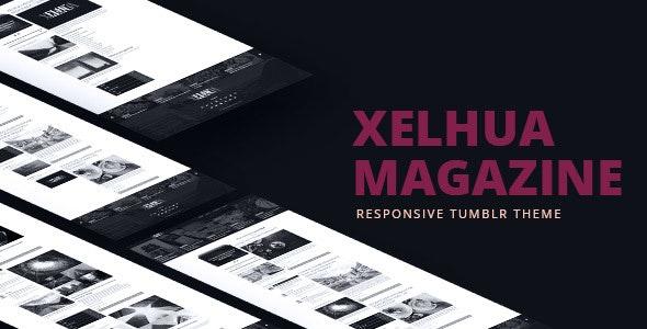 Xelhua Magazine - Responsive Tumblr Theme - Blog Tumblr