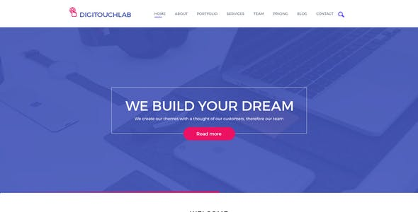 Digitouchlab PSD Template