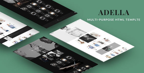 Adella - Kute HTML Template - Fashion Retail