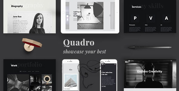 Quadro | Responsive Photography Template - Photography Creative