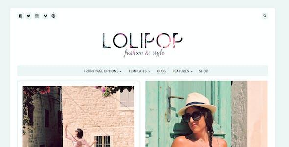 Lolipop - Fashion WordPress Theme