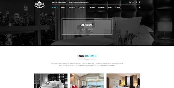 Chondo - Hotel PSD Template