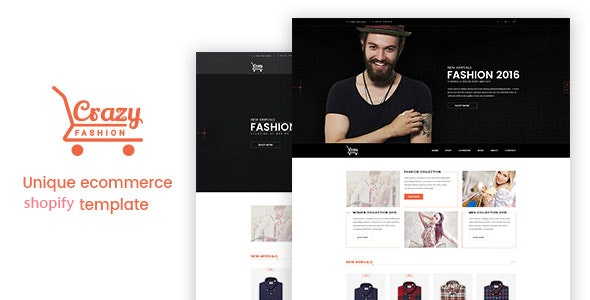 Crazy Fashion - Shopify Responsive Theme - Fashion Shopify