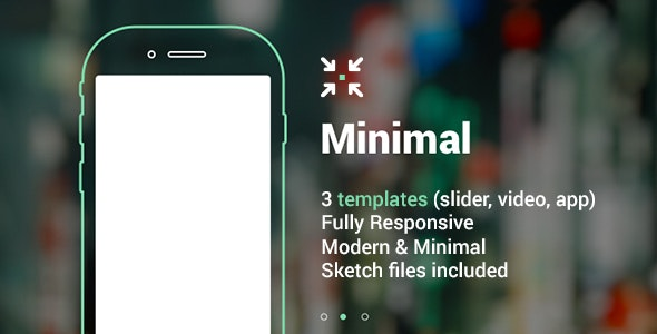 Minimal Landing Page HTML - Miscellaneous Specialty Pages