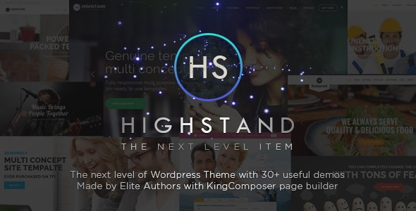 Highstand - Responsive MultiPurpose WordPress Theme - Business Corporate
