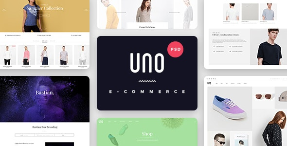 UNO - A Multipurpose Shop PSD Template - Shopping Retail