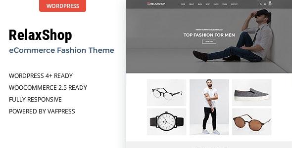 Relaxshop - Fashion WooCommerce WordPress Theme - WooCommerce eCommerce
