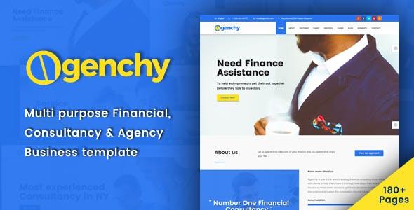 Agenchy - Modern Multipurpose HTML5 Template