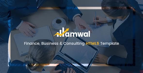 Amwal - Business & Financial HTML5 Template - Business Corporate