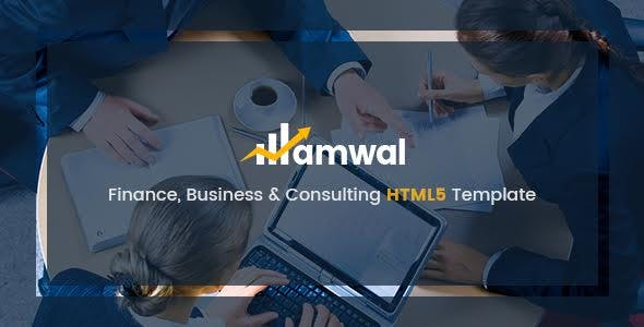Amwal - Business & Financial HTML5 Template