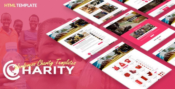 Charity HTML - Responsive Website Template - Charity Nonprofit