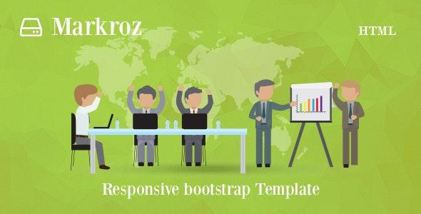 Markroz - Multi-purpose Responsive Bootstrap Template - Business Corporate