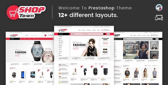 Shop Town - Multipurpose Prestashop Theme