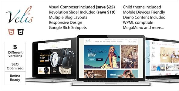 Velis - Premium WooCommerce Theme - WooCommerce eCommerce