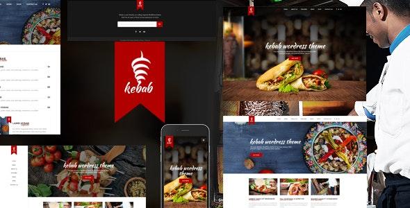 Kebab - Restaurant, Fast Food WordPress Theme - Restaurants & Cafes Entertainment