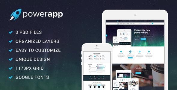 PowerApp_PSD_Template - Creative PSD Templates
