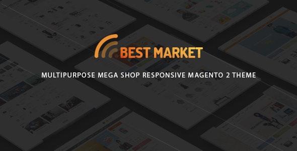 BestMarket - Multipurpose Mega Shop Responsive Magento 2 Theme - Technology Magento
