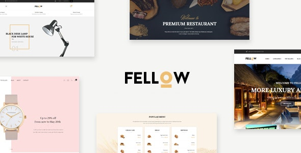 Leo Fellow - eCommerce PSD Template - Photoshop UI Templates
