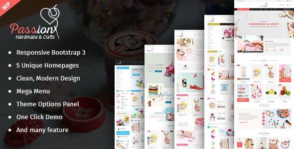 Passion - Handmade & Craft WooCommerce WordPress Theme