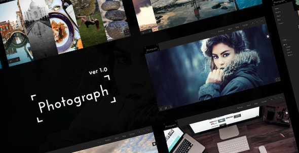 Photograph - Awesome Photography Portfolio Template - Photography Creative