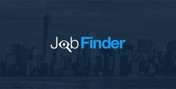 JobFinder PSD Template - PSD Templates