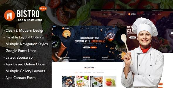 Bistro - Food & Restaurant - Food Retail