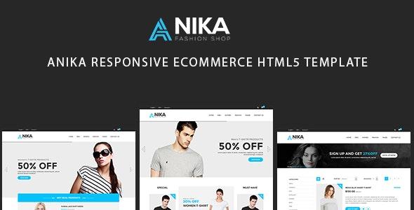 Anika-Responsive eCommerce Template - Fashion Retail