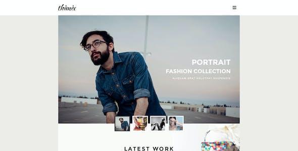 Thimix-Creative PSD Template