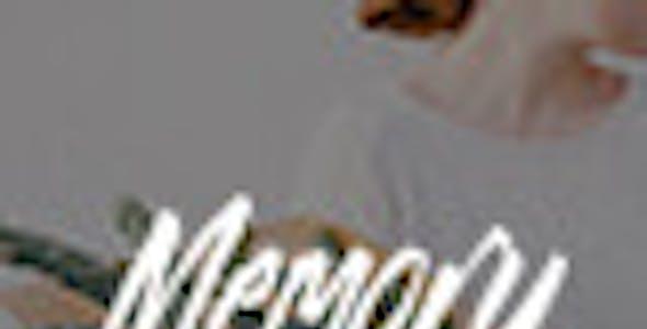 Memory - Mobile Friendly WordPress Blog Theme