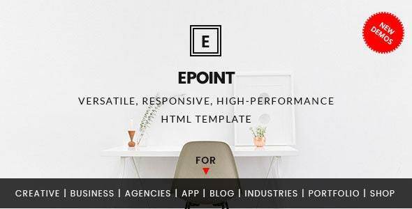 ePoint - Responsive HTML5 Template - Business Corporate