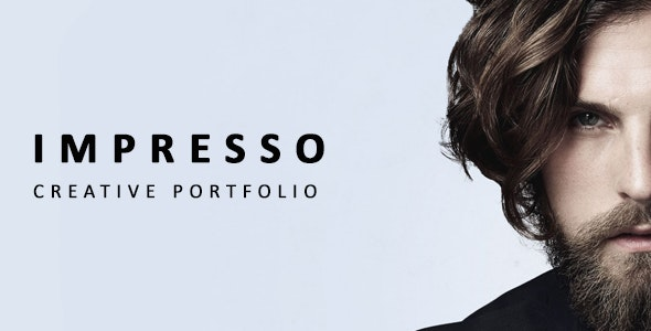 Impresso - Simple Sliding Portfolio Template - Portfolio Creative