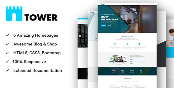 TOWER - Multipurpose HTML Template for Creative Business and Startups - Business Corporate