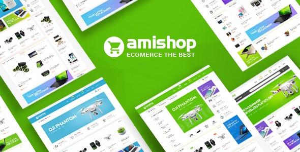 Pts Amishop - Digital & Electronics Prestashop Theme - PrestaShop eCommerce
