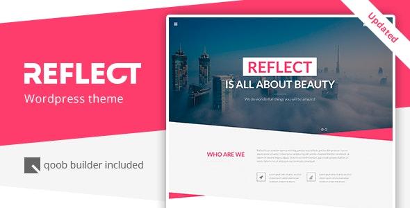 Reflect - Responsive One Page Wordpress Theme - Creative WordPress