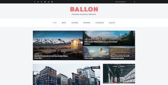 Balloon Templates from ThemeForest