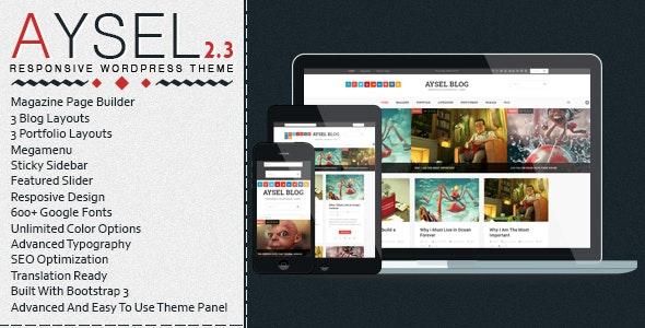 Aysel - Responsive WordPress Blog Theme - Blog / Magazine WordPress