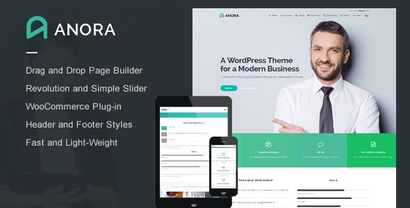 Anora - Business & Corporate WordPress Theme - Business Corporate