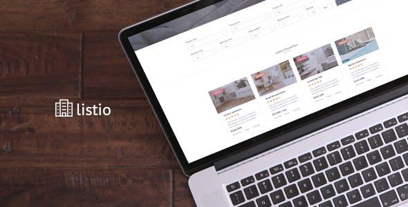 Listio - Real Estate HTML Template