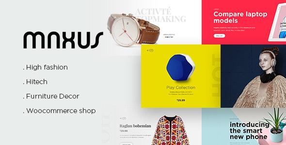 MAXUS - Modern eCommerce Multipurpose PSD - Retail Photoshop