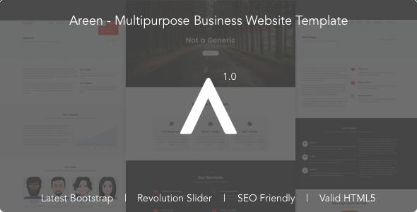 Areen - Multipurpose Business Website Template - Business Corporate