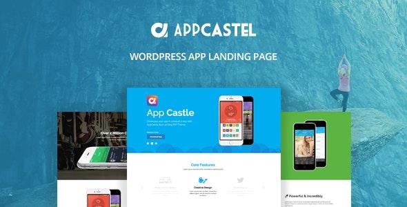 AppCastle - WordPress App Landing Page - Software Technology