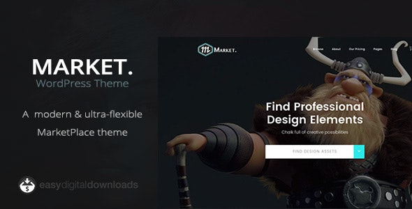 Market - Marketplace WordPress Theme - Directory & Listings Corporate