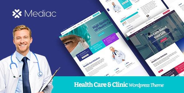 Mediac - Healthy Service WordPress Theme - Health & Beauty Retail