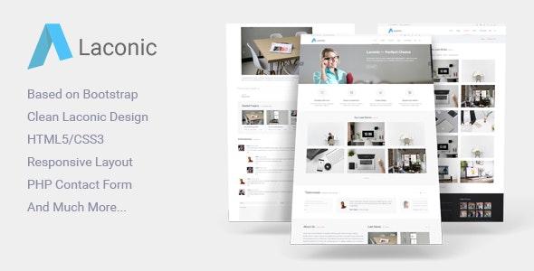 Laconic - Business/Corporate HTML5 Template - Corporate Site Templates
