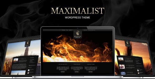 Maximalist - WordPress Theme - Creative WordPress